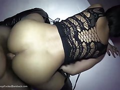 There`s a certain amount of hotness reached every time Jessie stretches her long legs, dressed in a nice high pair of boots and a lace top. It`s beyond imagination, with her tight round ass pushing hard and deep on the hard cock and her tiny dick throbbin