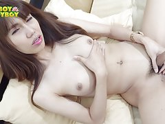 Pang is one of those ladyboys that developed early and just looks incredibly fucking sexy. And when this 25 year old hottie started to take off her clothes it was really no surprise that you will be turned on. Watch her as she shows off her cock and that