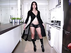 Benzey is a stunning Thai tgirl with an amazing body, big sexy boobs, a great ass and legs that seem to go on forever! Join this hot Grooby girl as she strokes her cock and plays with her sexy bubble butt!