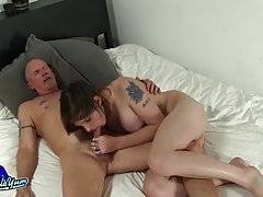 Watch these two giving blowjobs, rimming and fucking like rabbits!