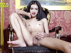 Here comes Jub. Her fantastic body will have you drooling as soon as you will see her goes naked for you. Watch her as she teases on chair and you�ll be amazed too witness her stunning body with nice curves and cute natural tits. Rarely one sees such incr