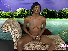 Kandii Rain is a hot slim tgirl with a sexy body, nice boobs, a firm round bubble butt and a hot cock! Enjoy this sexy Grooby girl as she strokes her hard cock and shows off her sexy body!