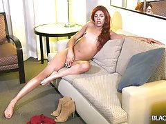 Brooklynn is a super cute transgirl with a smoking hot body, small budding boobies and a yummy round ass! She`s perfect! Watch her flashing her sexy butt and stroking her dick until she shoots a hot load for you!