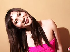 Yuu Hoshibana has an amazing figure, slim with nice juicy tits a fine tight ass and a rock hard cock! Watch and enjoy as Grooby girl Yuu strips down and masturbates for you!