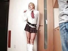 Cute ladyboy Erina Aisaki is looking for having some fun.
